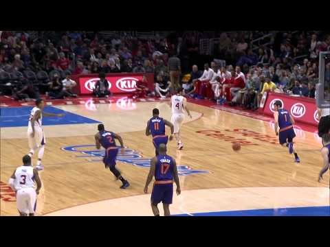 Eric Bledsoe Goes For A Triple Double vs the L.A. Clippers: 12/08/14