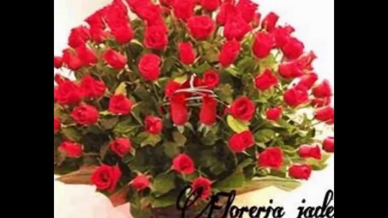 Catalogo de arreglos florales con rosas rojas youtube - Arreglo de flores naturales ...