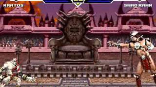 MUGEN Kratos VS Shao Kahn