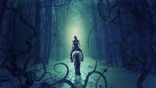 Ride in dark forest photo manipulation | photoshop tutorial cc