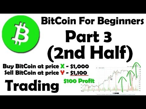 BitCoin For Beginners - How To Buy BitCoin And Trade It - Part 3 2/2