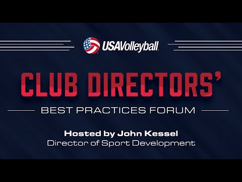 Loren Anderson, Rise Volleyball - Club Directors Best Practices Forum 2016 - USA Volleyball