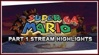 Super Mario 64 - Stream Highlights
