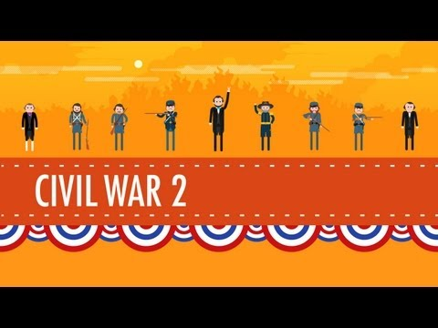The Civil War Part 2: Crash Course US History #21