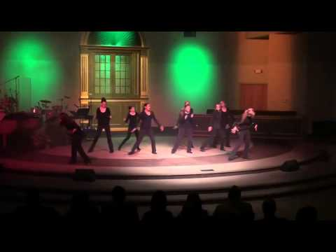 Murphysboro Christian Academy's Ablaze Dance Team - Shake Yourself Loose - Christ Community Church