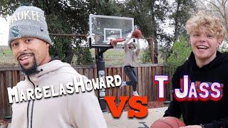 TRISTAN JASS TAKES ON THE BACKYARD BASKETBALL CHALLENGE!!