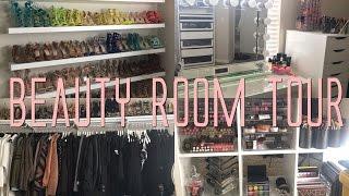 Beauty Room Tour.