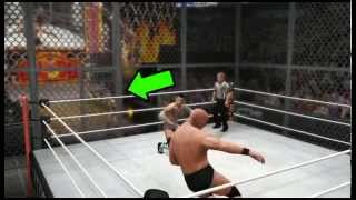 WWE '13 How to open the hell in a cell door