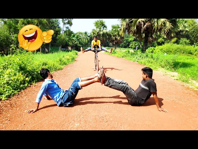 You Must Be Laugh | New Comedy Fun Video | Cycle Fun Boys thumbnail