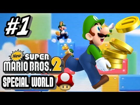 New Super Mario Bros 2 Special Worlds - Part 1 World Mushroom