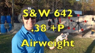 S&W 642 .38 Special Shooting Action