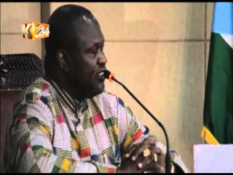 South Sudan rebel leader Machar returns to Juba, sworn in as Vice President