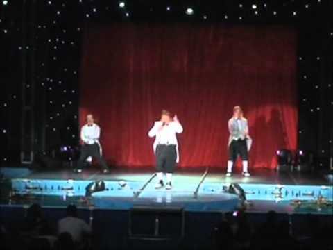 Los Calugas, AQUA Circus, Last Show on San Juan, PR 2011