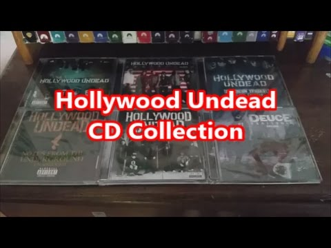 My Hollywood Undead CD Collection