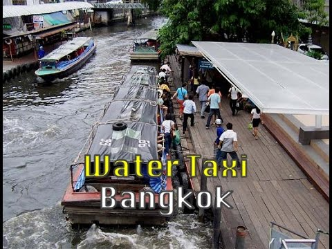 Bangkok, Thailand: Khlong Saen Saep Canal Ferry in Bangkok