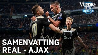 Samenvatting | Real Madrid - Ajax | Achtste Finales | 05/03/2019 | CHAMPIONS LEAGUE