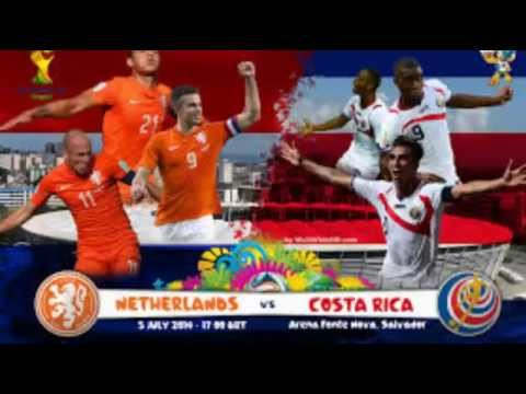 World Cup 2014: Netherlands v Costa Rica - full penalty shootout