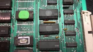 Galaga PCB repair for Lescell