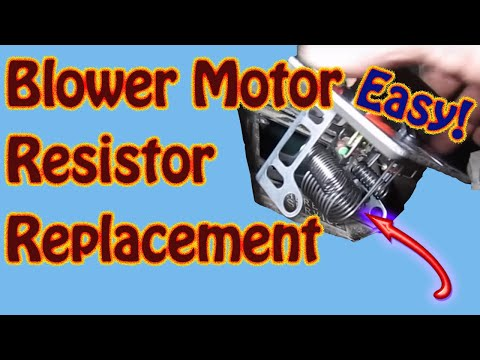 Blower Motor Resistor Repair - Heater Fan Speed Control - Chevy Blazer GMC Jimmy S10