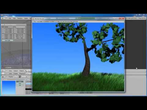 Blender Tutorial - Creating a terrain, part B
