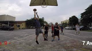 Saturday afternoon friendly basketball   13 July 2019