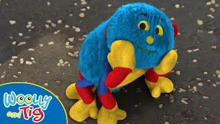 Woolly and Tig - Cute Little Woolly   TV Show for Kids   Toy Spider