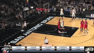 NBA 2K15 - Игра по сети (Multiplayer Gameplay) HD [1080] (PS4)