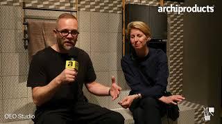 Salone Internazionale del Bagno 2018 | MUTINA - Oeo Studio presents