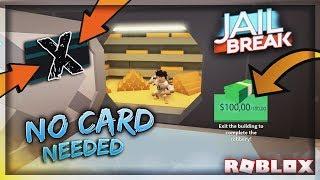 Roblox - JailBreak |  Hướng Dẫn Cướp Bank Không Cần Card - H3G