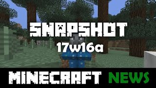 What's New in Minecraft Snapshot 17w16a?
