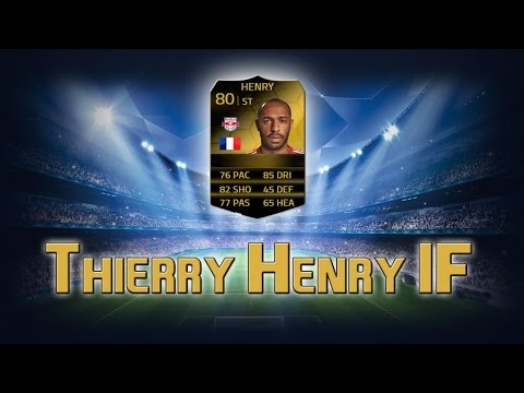 FUT14 | Player Review | Thierry Henry IF (BU : 80) ! [FR]