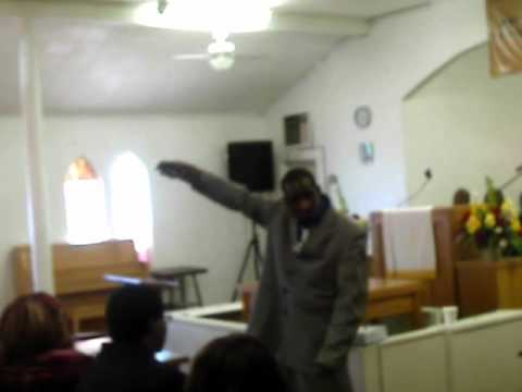 Prophet Michael Johnson at Stone Chapel C.M.E.