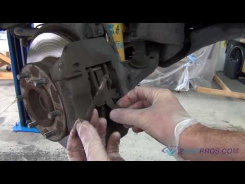 Front Brake Pads and Rotors Replacement 2005-2014 Toyota Tacoma