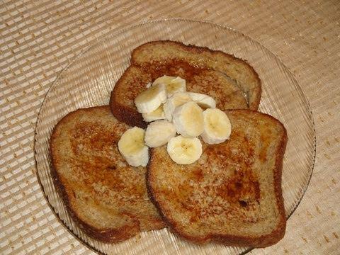 Receta de pan frances - French toast  desayuno facil y rapido