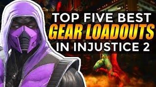 Injustice 2: Top 5 Characters With The BEST GEAR!