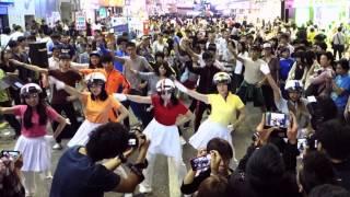 20131026 香港街頭快閃 CRAYON POP BAR BAR BAR FLASHMOB IN HONG KONG