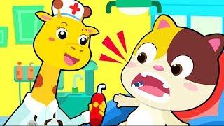 Bayi Kucing Sakit Gigi | Lagu Sakit Gigi | Lagu Anak-anak | BabyBus Bahasa Indonesia
