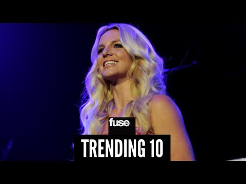 Britney Spears Records New Song for Her Kids - Trending 10 (01/31/13)