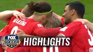 Timo Werner scores off Hertha Berlin mistake | 2016-17 Bundesliga Highlights