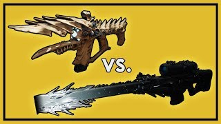 Destiny 2: One Thousand Voices vs. Whisper of the Worm (& Supers) - Last Wish Damage Comparison