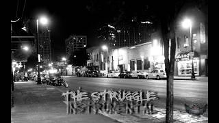 "90s Oldschool Hip Hop Rap Instrumental ""The Struggle"""