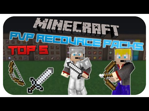 Top 5 Minecraft PvP Recourcepacks - Texture Packs! KihitoLP - German/Deutsch [HD] 1.7.10 - 1.8.1!