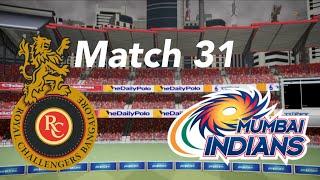 Ipl 2018 Match 31 RCB vs MI highlights