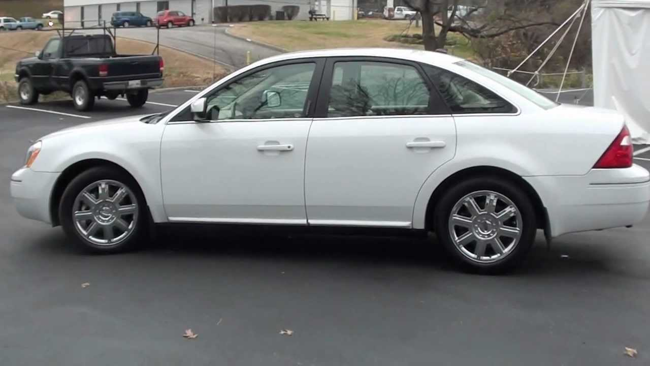 For Sale 2007 Ford 500 Sel 1 Owner Only 51k Miles