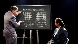 MAGIC SQUARE FORMULAS