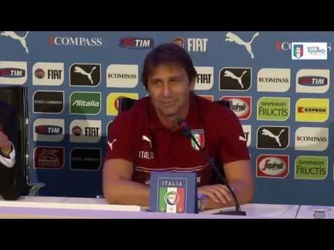 Antonio Conte - la conferenza stampa integrale dell'1 settembre 2014