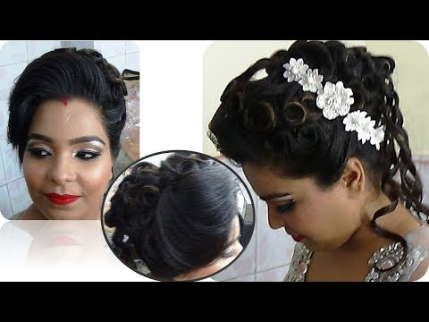 Hairstyle for Party - Latest hairstyle DIY tutorial - step by step