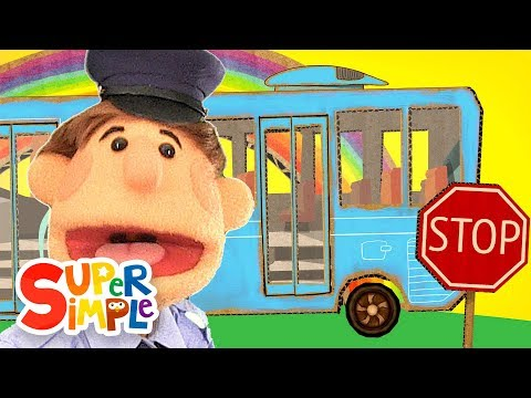 The Wheels On The Bus | Super Simple Songs video