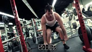 Stan Efferding 500 lbs 1 Arm Deadlift (x2) + 700 lbs Deadlif