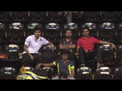 17566 sport Al Jazeera India promotes badminton in cricket frenzy nation